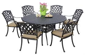 Woodard Belden Padded Sling Aluminum Outdoor Dining Sets U0026 Outdoor Dining Chairs On Sale