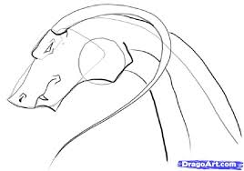 3 draw easy dragon head