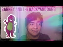 Vhs Barney U0026 Backyard Gang by The Pilot For Barney Is Cheesy Barney And The Backyard Gang
