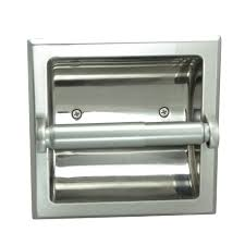 Tissue Paper Holder by Amazon Com Designers Impressions Polished Chrome Recessed Toilet