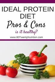 the ideal protein diet pros u0026 cons 80 twenty nutrition