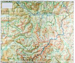 Mt Washington Map by Trail Map Of Alpine Lakes Wilderness Area Mt Baker Snoqualmie
