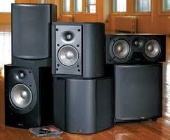 Infinity Bookshelf Speakers Infinity Beta Home Theater Speaker System Sound U0026 Vision