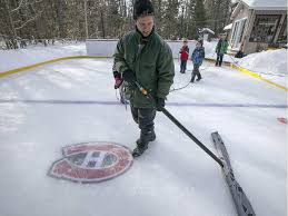 Bands Of The Backyard Backyard Rinks Gretzky Makers And Climate Change Indicators