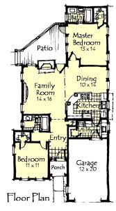 Small House Plans For Narrow Lots 33 Best Small House Plans Images On Pinterest Small House Plans