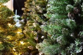 artificial christmas trees summerhill garden centre
