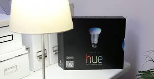 philips hue ipad controlled led lightbulbs hands on slashgear