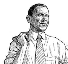 obama black and white clip art barack obama pinterest barack