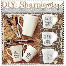 diy sharpie mugs aria polyvore
