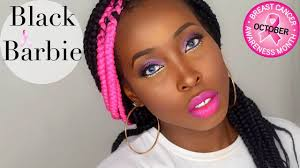 black barbie 2015 2015 halloween makeup tutorial breast cancer