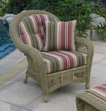 Outdoor Armchair Cushions 77 Best Outdoor Wicker Furniture Cushions Images On Pinterest