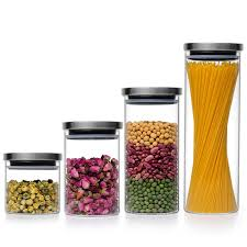 glass kitchen storage canisters glass storage jar glass storage jar suppliers and manufacturers