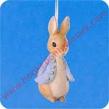 1996 beatrix potter 1 rabbit hallmark ornament