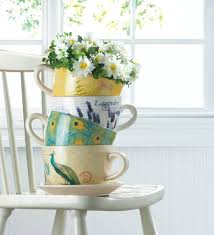 Outdoor Planters Large by Teacup Garden Planter Large Teacup Decorative Outdoor Planters