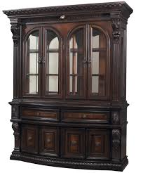 traditional style dining hutch china cabinet by dixie furniture