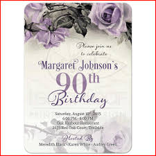 90th Birthday Invitations Templates 90th birthday invitations collection of birthday invitations