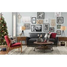 room and board leather sofa rustic sofas you ll love wayfair ca