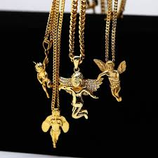 gold necklace with charm images Buy 2017 hiphop jewelry gold chain necklace for jpg