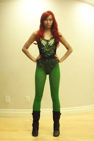 Poison Ivy Costumes Halloween Poison Ivy Red Head Costume Idea Wig Spray Hair