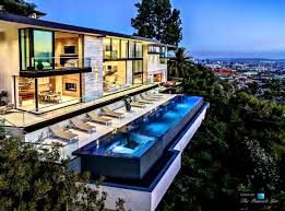 steep hillside house plans decoration glamorous hollywood homes redefining contemporary