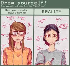 How To Draw Meme - draw yourself meme by naokiiii on deviantart