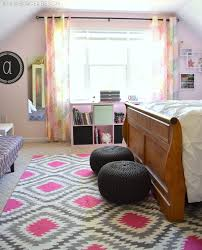 Teen Bedroom Makeover - pink charcoal bedroom makeover jenna burger