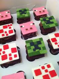 minecraft cupcakes party birthday ideas pinterest minecraft