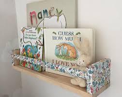 nursery bookshelf etsy
