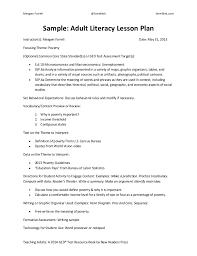 sample high lesson plan template