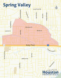 Frisco Texas Map Spring Valley Houston Maps Neighborhood Guide By Paige Martin