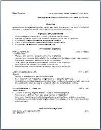 chemist resume objective bullet point resume template of the most important tips for