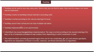 Java Map Get Java Collection Framework Treemap Treemap Introduction Youtube