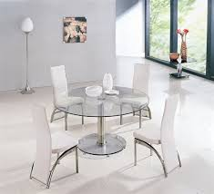 round glass table for 6 maxi round glass dining table and chairs glass tables