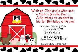 farm birthday invitations best invitations card ideas