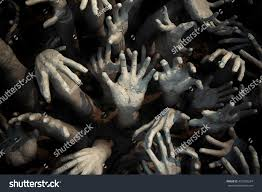 halloween zombie background ghost handzombie bloody hands backgroundmaniacblood zombie stock