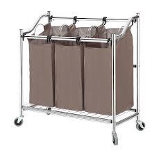 Pretty Laundry Hampers by Amazon Com Storagemaniac Laundry Sorter Laundry Hamper 3 Section