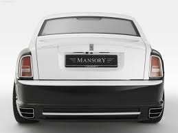 rolls royce ghost mansory mansory rolls royce conquistador 2007 pictures information