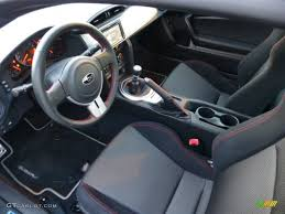 subaru brz interior black cloth interior 2013 subaru brz premium photo 75536568