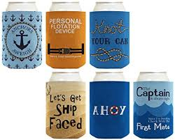 nautical wedding sayings coolie gift bundle nautical themed boating