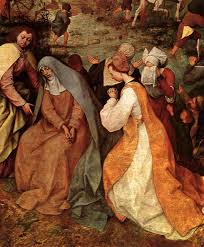 the fourth dolor of mary the meeting with jesus on the way to