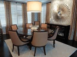 dining room accessories round clear glass dining table top
