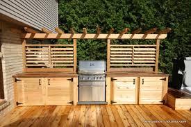 cuisines ext駻ieures cuisines extérieures archives patios en bois barbacoa