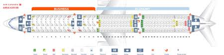 A330 300 Seat Map Seat Map Airbus A330 300 Air Canada Best Seats In Plane