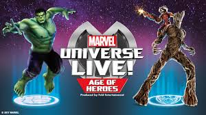 Marvel Universe Map Marvel Universe Live Age Of Heroes Oakland East Bay Tickets