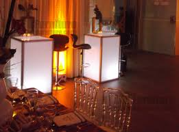 table rentals nyc led light up table rental nyc
