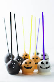 Halloween Cake Pop Halloween Vanilla Cake Pops Alsothecrumbsplease Com