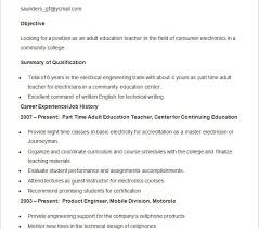 teacher resume template free lukex co