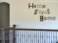 Home Decor Ebay Alabama State Outline Home Sweet Home Metal Wall Home Decor