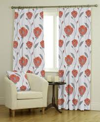 How To Measure Windows For Curtains by Bonita Spice Orange Curtains Made To Measure For Exact Fit