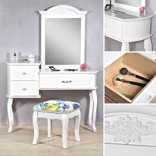 Bilder Schlafzimmer Amazon Schminktisch Modern Mit Polsterhocker In Weiß Kosmetiktisch